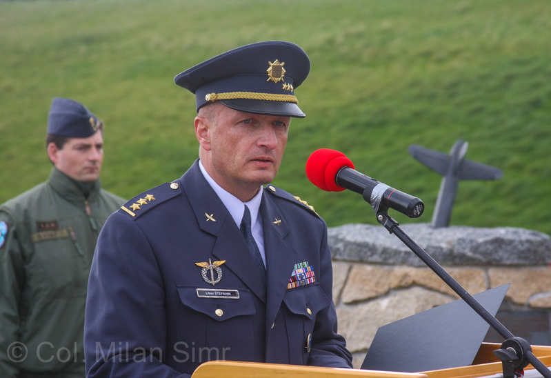 col-libor-stefanik-during-his-speech
