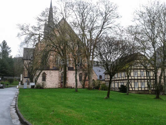 Kloster Haina today